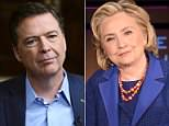 In 'A Higher Loyalty', James Comey (pictured, April 15 on ABC) claims Obama and other senior Democrats do not blame him for Clinton's election loss