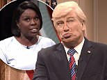 Alec Baldwin made his iconic return as Donald Trump for a charged Saturday Night Live that made fun of Fox News and the President's propensity to go off script during press conferences