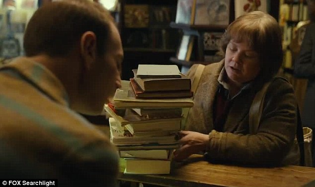 Hawking: The teaser shows the one-time successful biographer reduced to selling old copies of books in a bookstore as her own writing has fallen out of trend
