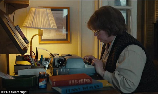 Edit: After trying to sell it, she's dismayed to find its only worth $75 because of its bland content... prompting her to sit down at her typewriter and tweak it