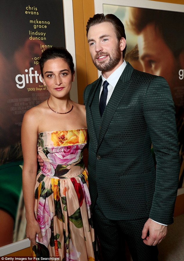 Repeat:Jenny Slate and Chris Evans have broken up again after reconciling in October, according to a New York Times profile with the actor; seen in April 2017