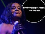 New York rapper Azealia Banks, 26, took to Instagram Saturday evening with a series of videos saying she was roofied and raped