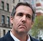 """FILE - This April 11, 2018 file photo shows attorney Michael Cohen in New York. President Donald Trump said Sunday, April 15, 2018, that all lawyers are now """"deflated and concerned"""" by the FBI raid on his personal attorney Cohen's home and office. (AP Photo/Mary Altaffer, File)"""