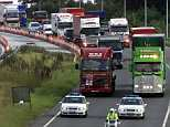 Britain's deadliest road can be revealed as the A1 (pictured) where collisions have killed 172 people in the past decade