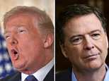 Former FBI Director James Comey got a number of Trump tweets aimed at him Sunday morning. His first broadcast interview will air tonight on ABC News