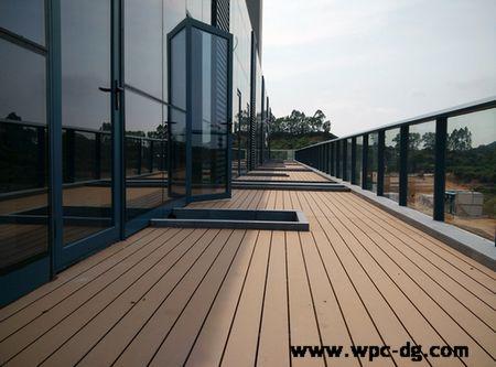 凯达科技园办公楼木塑地板工程