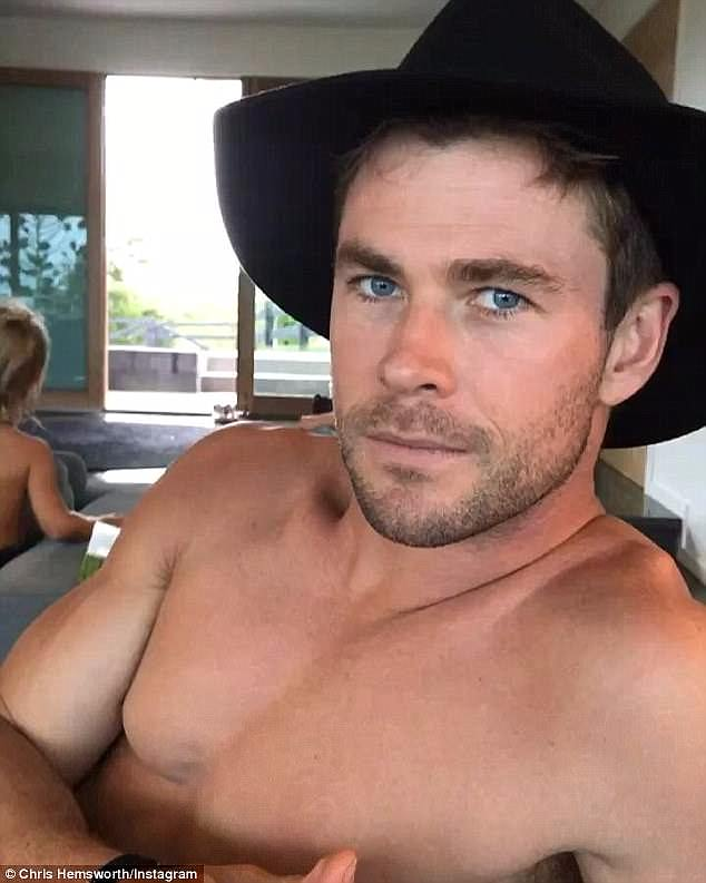 Wistful: He said he knew the 41-year-old model would find it 'hard to leave' if he could just manage to show her the sights of Byron Bay - a place he admitted feels like a 'constant holiday'