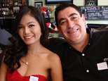 Kevin Smitham, 51, had been staying with wife Kanda Smitham, 29, and their parents in Ubon Ratchathani, Thailand, during the songkran new year holiday