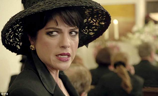 Riding high: Selma recently won acclaim for her performance as Kris Jenner in American Crime Story: The People vs O.J. Simpson (pictured)