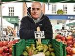 For the past 35 years, Wayne Bellows (pictured) has been part of the tradition of street traders yelling out their wares. But now he's been told to pipe down because he's too loud