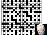 Marc Breman, 56, believes his cryptic creation will leave the most hardcore crossword fans feeling extremely down and cross