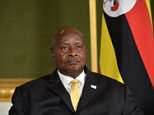 President Yoweri Museveni (pictured) said he wants to ban Ugandans from performing oral sex