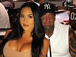 Brett 'Kaos' Pechey (right with his model girlfriend), the former president of a Queensland Bandidos chapter, has been in an expletive-laden rant by an ex-Hells Angels member