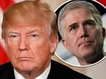 President Donald Trump voiced his displeasure on Tuesday with a Supreme Court ruling that makes it harder for authorities to deport some criminal immigrants – but he did it without blaming Neil Gorsuch, his own nominee who voted against him
