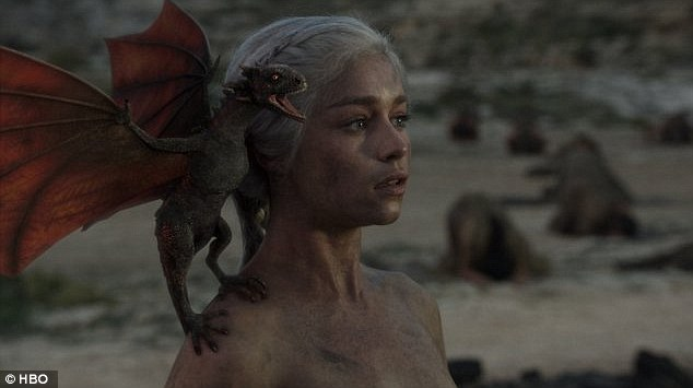 Superfan? The pop icon recreated Emilia Clarke's hit HBO character