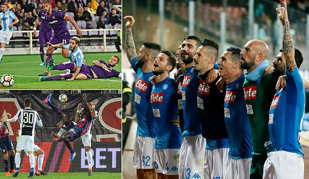 Juventus' Serie A lead is cut to just four points as they are held by Crotone