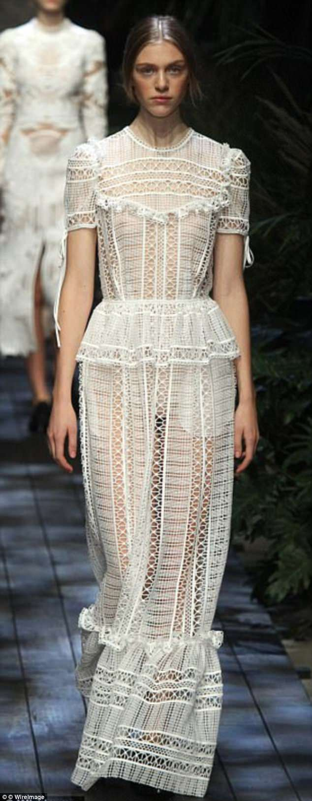 Erdem's feminine creations and fondness of lace could make him the perfect choice