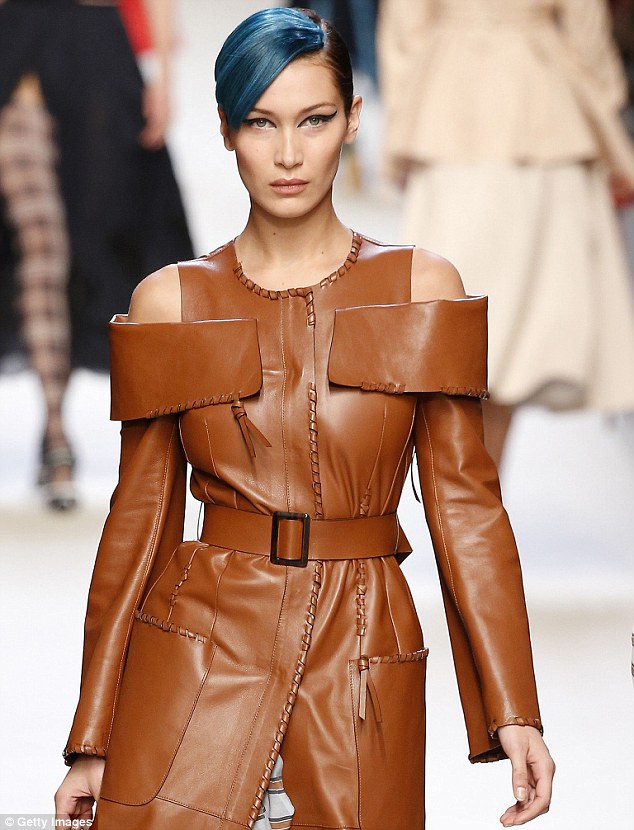 Favorite look ever: Bella's favorite makeup look she's ever worn was the Fendi Spring 2018 show during Milan Fashion Week