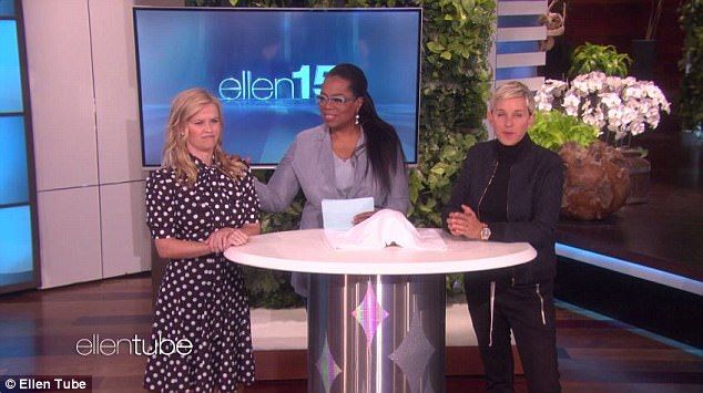 Battle: So, in order to settle the debate, Oprah hosted a trivia contest between Ellen and Reese in which she asked questions about herself to see who knew her better
