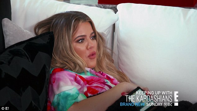 You okay? Khloe Kardashian appeared to experience some scary complications in a new preview for Sunday's episode of KUWTK