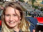 Leah Kerry (above), 15, died after she took ecstasy tablets called 'Netflix and Chill' at an end of term party, an inquest heard