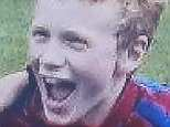 Pictured: James Hick, 14, who died after 'tripping up on his way to school' in Mirfield, West Yorkshire yesterday