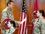 Three officials in the Tennessee Air National Guard have been disciplined after an officer was filmed reciting her re-enlistment using a dinosaur hand puppet