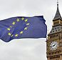 File photo dated 29/03/17 of an EU flag flying in front of the Houses of Parliament in London. (Victoria Jones/PA)