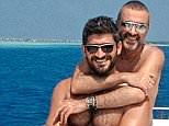 It was Fadi Fawaz (left), George Michael's (right) lover from 2011, who discovered the singer's body in 2016