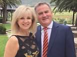 The row over Richard Keys' affair with lawyer Lucie Rose continued today after his estranged wife Julia (pictured with the TV host in 2016) went to police