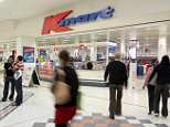 A Kmart store has incited the wrath of a customer after they stopped and searched an African family's bags in the self-service checkout line (stock image)
