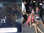 Police arrived at the scene an hour afterNaphattarakul Phachayakan set up the camera on his car bonnet and filmed his suicide