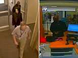 The video shows Prince on April 20 looking gaunt and withdrawn as he follows an unidentified man in a light-coloured shirt and trousers down the hallway of the surgery. His pallid face is just visible underneath a black hooded top. Also pictured is Prince's assistant Kirk Johnson