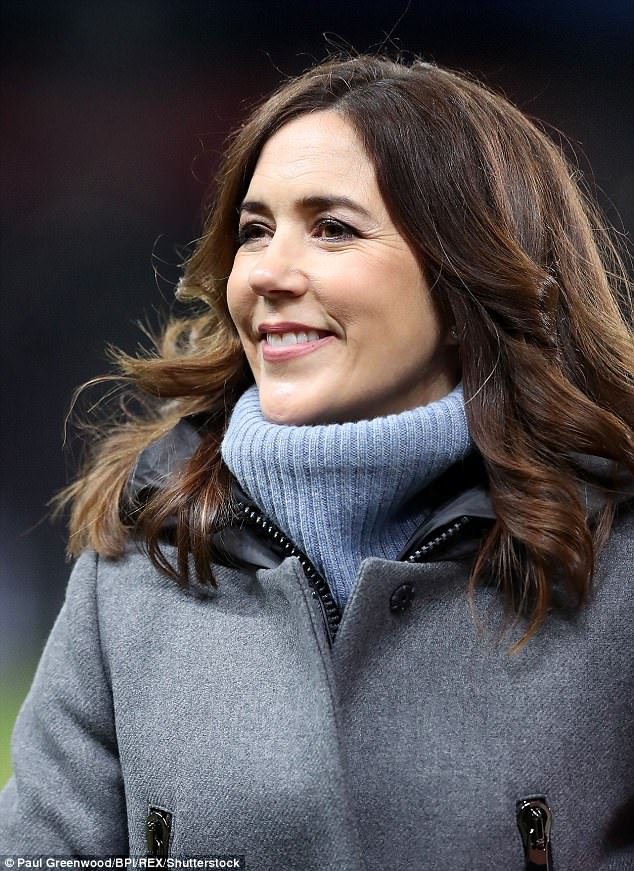 Obviously Princess Mary (pictured) will become Queen consort one day next to Prince Frederik who will be King but I don't think it will be in the next 12 months,' Juliet Rieden said