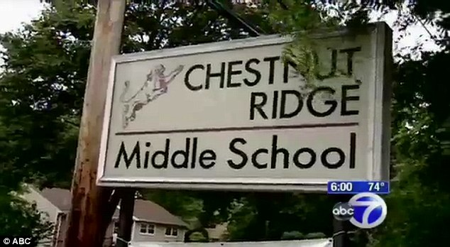 All four boys attend Chestnut Ridge Middle School in Ramapo, New York