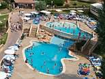 Two Scottish girls aged 4 and 11 were left on their own at the Club Palma Bay resort in Majorca (pictured) while their mother and step-father 'went out and got drunk'