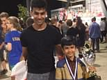The family of nine-year-old chess prodigyShreyas Royal (right) is fighting to stay in Britain so he can continue his quest to become the country's first world champion