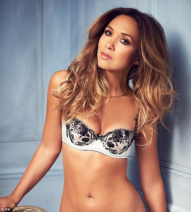 Eternal: Myleene admitted she was inspired by her impending 40th birthday in April to film her DVD, but most of all she wanted empower women with her fitness secrets