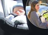 Lauren Bush Lauren (pictured) and her Husband David bring their new born son Max home from Hospital in New York City, while her grandmother, Barbara Bush is laid to rest in Texas
