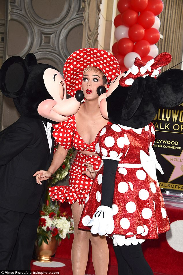 I Kissed A Mouse! Maybe it's time for Katy to update her famous hit