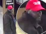 NYPD detectives are seeking this suspect in a hate crime attack on a Hispanic man on Friday