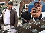 George Michael's family gave his lover Fadi Fawaz (pair pictured together) £250,000 to live on after the star's death despite his claims he was left broke