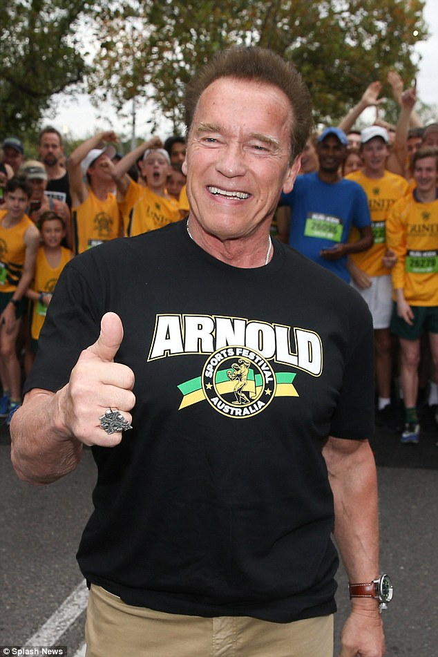 'So what?' Arnold recently revealed that on The Project that he doesn't think about ageing