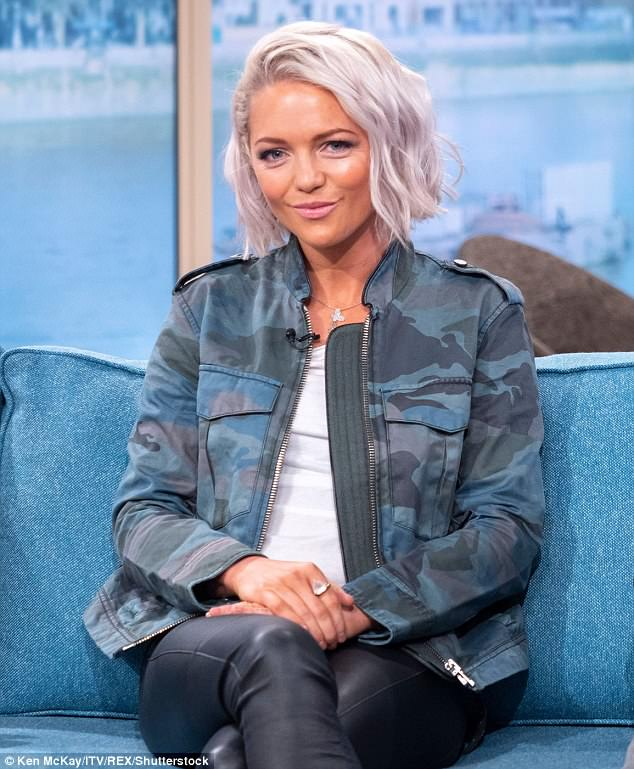 Regret: Hannah Spearritt went on This Morning on Monday  to talk about her regret over a boob job that caused her depression and hair loss