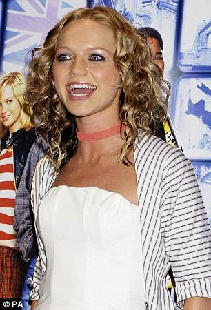 Before: She admitted to making comparisons with other women (pictured in 2004)