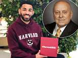 18-year-old Drake Johnson announced he was Harvard-bound on Wednesday