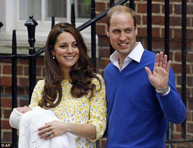 Princess Charlotte was also named two days after she was born, on May 4, with a formal announcement revealing her name as Charlotte Elizabeth Diana