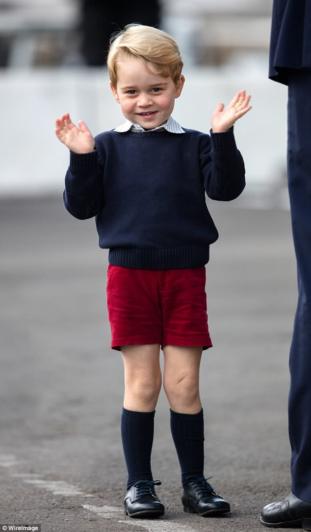 Two days after Prince George was born, and one day after Kate left hospital, an announcement was made confirming his name as George Alexander Louis