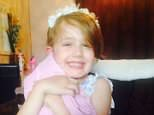 Summer Grant, pictured, died of her injuries after being blown 300 yards down a hill in a bouncy castle that was 'not properly secured to the ground'