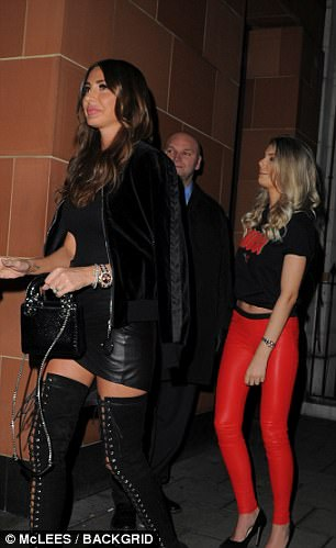 A variety of female companions were also seen in Mayfair where Stunt was out on Saturday night